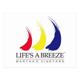 Life's a Breeze_Paint-The-Wind_Martha's Vineyard Postcard