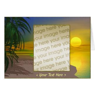 Life's a Sunny Beach Card