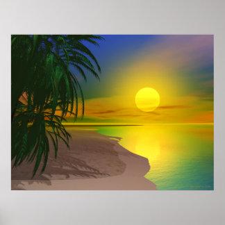 Life's a Sunny Beach Poster