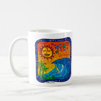 Life's A Wave Enjoy The Ride! Coffee Mug