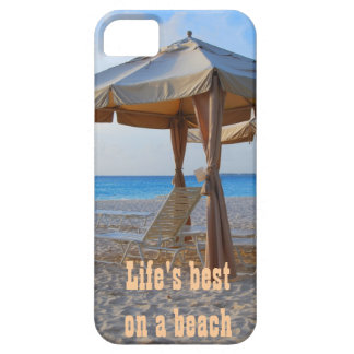 Life's Best on A Beach iPhone 5 Case