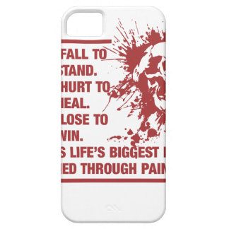 Lifes Biggest Lessons Are Learned Through Pain iPhone 5 Case