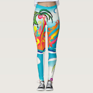 Life's Crazy Oasis Leggings