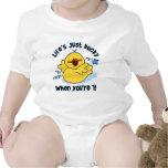 Life's Ducky 1st Birthday Baby Bodysuits