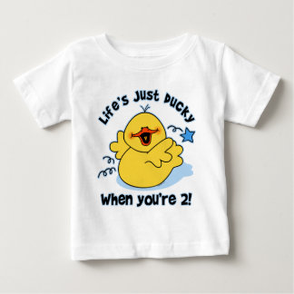 Life's Ducky 2nd Birthday Baby T-Shirt