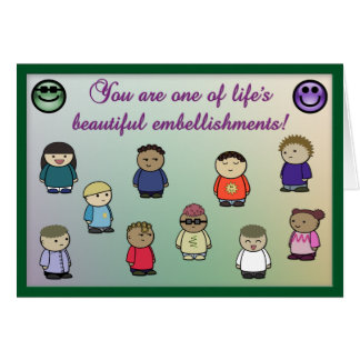 Life's Embellishment Greeting Card