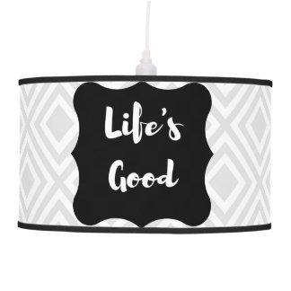 Life's good Lamp Shade
