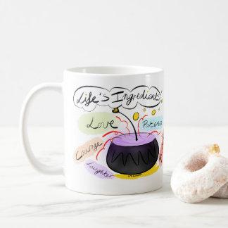 'Life's Ingredients' Mug