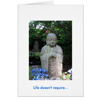 Life's message card