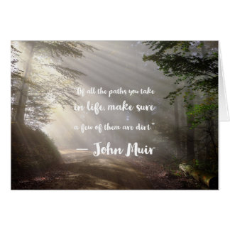 Life's Paths Card