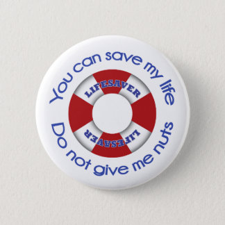 Lifesaver -Nut allergy button