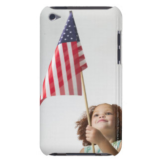 lifestyle portrait of a female child as she iPod Case-Mate cases