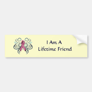 Lifetime Friend Bumper Sticker