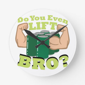 Lift Bro? Clock