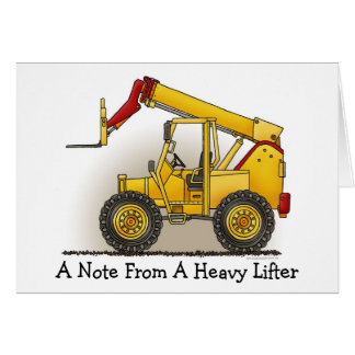 Lift Construction Note Card