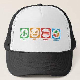 Lift, Eat, Sleep, Repeat - Hat