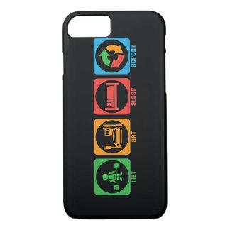 Lift, Eat, Sleep, Repeat iPhone 7 Case