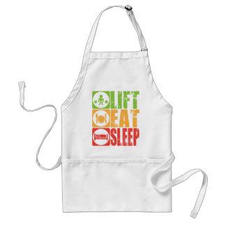 Lift, Eat, Sleep Standard Apron