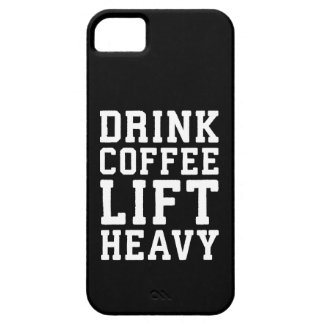 Lift Heavy, Drink Coffee - Funny Gym Motivational Case For The iPhone 5