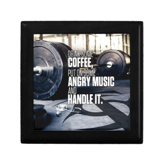 Lift Heavy Inspiration - Coffee and Angry Music Gift Box