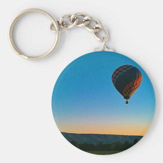 Lift Off Basic Round Button Keychain