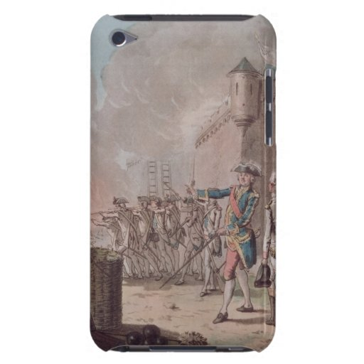 Lifting of the Siege of Pondicherry, 1748, engrave iPod Touch Case