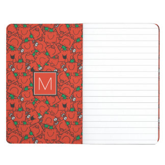 Lifting Weights Red & Green Pattern | Monogram Journal
