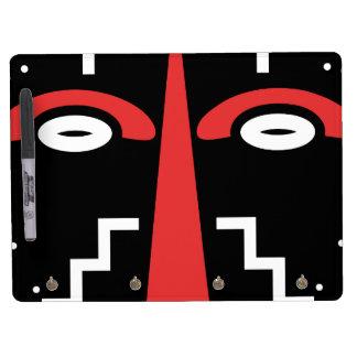 Ligbi Mask Dry Erase Board With Keychain Holder