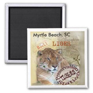 Liger Magnet - Myrtle Beach, SC