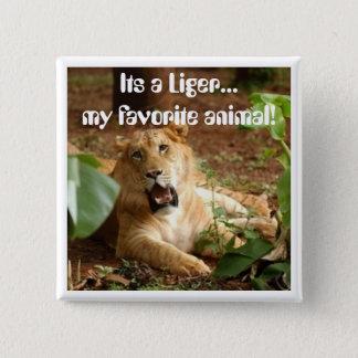 Liger... My Favorite Animal button