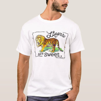 Ligers are Sweet T Shirt Design