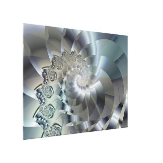 Light 2 Brago-Mitchell Fine Fractal Art Canvas Print