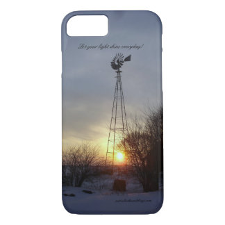 Light Across the Prairie - Prairie Mile Series iPhone 8/7 Case