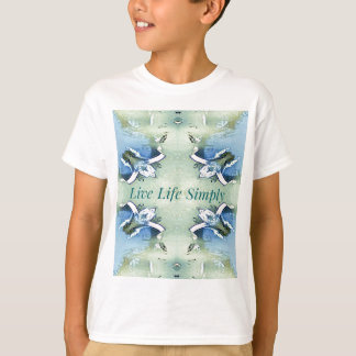 Light Airy 'Live Life Simply Lifestyle T-Shirt