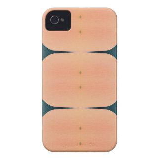 Light Airy Modern Peach Pattern iPhone 4 Case