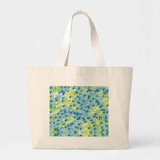 Light Airy Modern Random Abstract Large Tote Bag