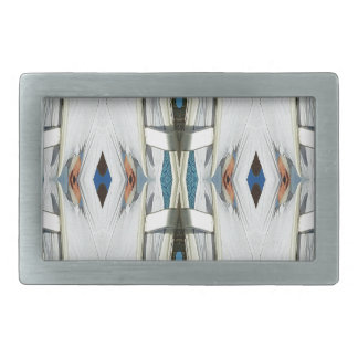 Light Airy Southwest Tribal Pattern Belt Buckles