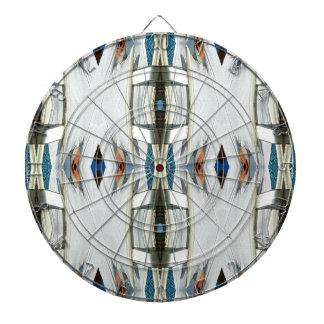 Light Airy Southwest Tribal Pattern Dartboard
