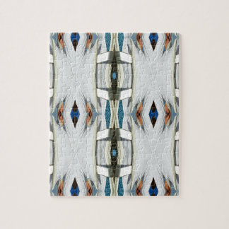 Light Airy Southwest Tribal Pattern Jigsaw Puzzle