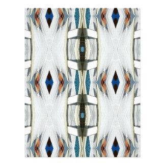 Light Airy Southwest Tribal Pattern Letterhead