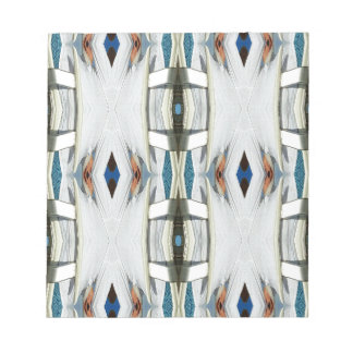 Light Airy Southwest Tribal Pattern Notepad