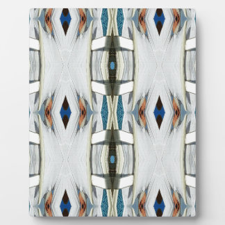 Light Airy Southwest Tribal Pattern Plaque