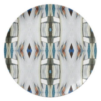 Light Airy Southwest Tribal Pattern Plate