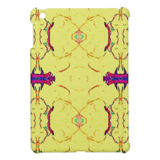 Light and Airy Modern Yellow Pattern. iPad Mini Covers