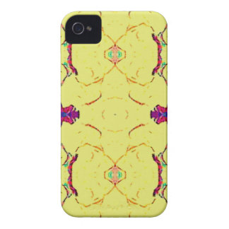 Light and Airy Modern Yellow Pattern. iPhone 4 Case