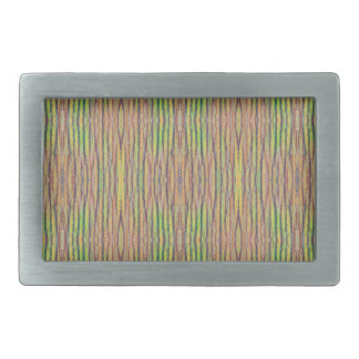 Light and Airy Personalizable Pastel Background Rectangular Belt Buckles