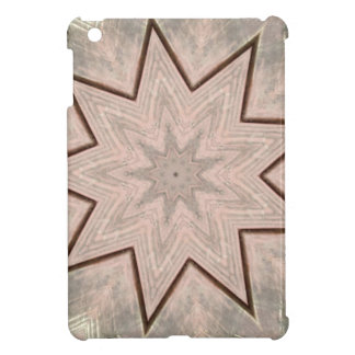 Light and Airy Soft Star Shaped Pattern iPad Mini Cases