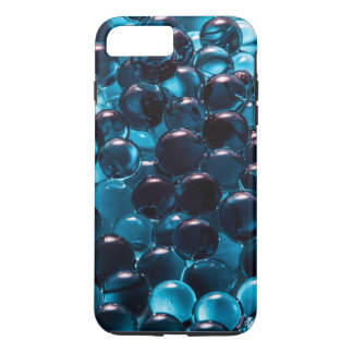 Light and Dark Blue Glass Marbles iPhone 7 Plus Case