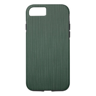 Light and dark green stripes wallpaper, 1895-1910 iPhone 7 case