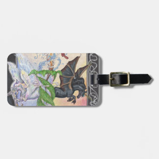 Light and Dark Luggage Tag